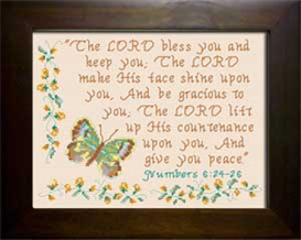 The Lord Bless You | Crafting | Cross-Stitch | Religious