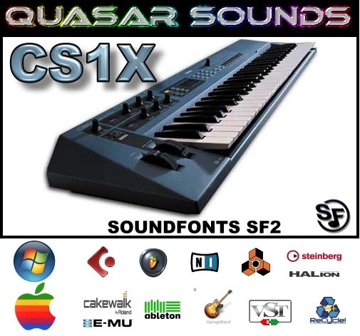 Yamaha Cs1x - Soundfonts Sf2