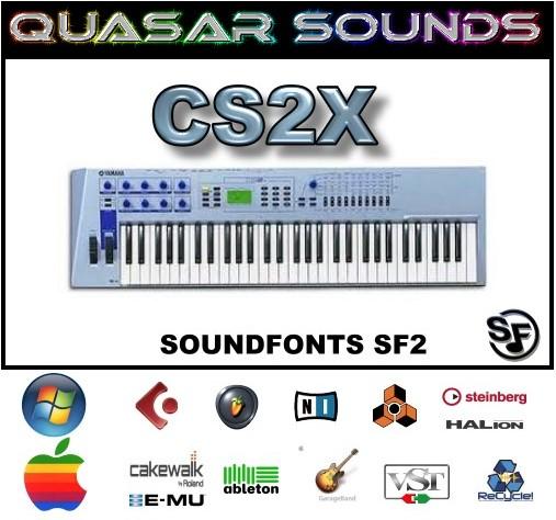 Yamaha Cs2x - Soundfonts Sf2