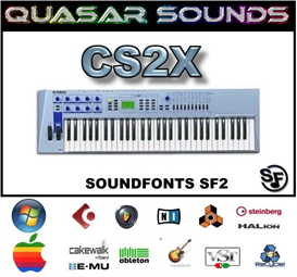 yamaha cs2x - soundfonts sf2