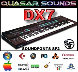yamaha dx7 - soundfonts sf2
