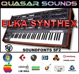 elka synthex - soundfonts sf2