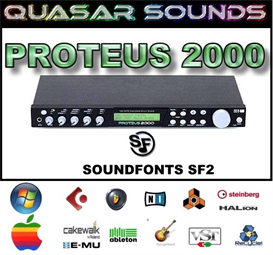 emu proteus 2000  - soundfonts sf2