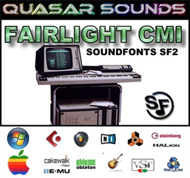 fairlight cmi - soundfonts sf2