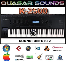 Kurzweil K-2500 - Soundfonts Sf2 | Music | Soundbanks