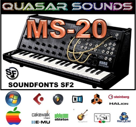 korg ms-20  soundfonts sf2