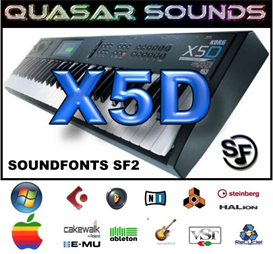 Korg X5d  Soundfonts Sf2 | Music | Soundbanks