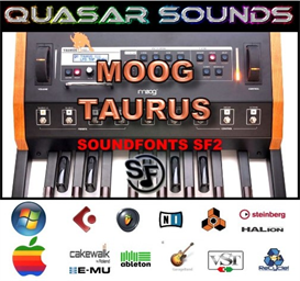 moog taurus  soundfonts sf2