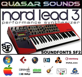 clavia nord lead 3  - soundfonts sf2
