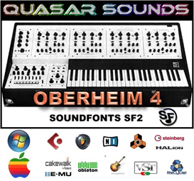 oberheim ob 4  soundfonts sf2