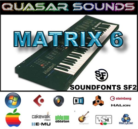 oberheim matrix 6  soundfonts sf2