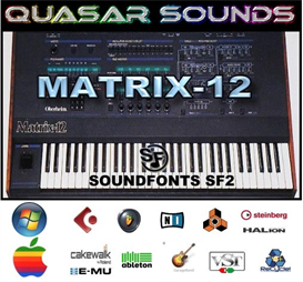 oberheim matrix 12  soundfonts sf2