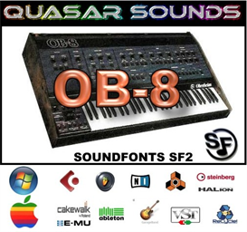 Oberheim Ob8  Soundfonts Sf2 | Music | Soundbanks