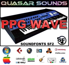 PPG Wave 2.3  - SOUNDFONTS SF2 | Music | Soundbanks