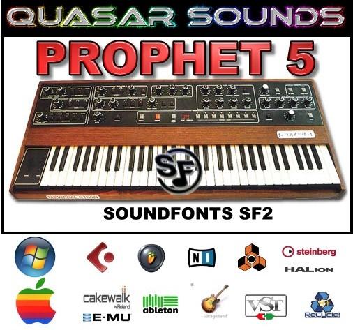 Prophet 5 - Soundfonts Sf2
