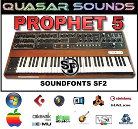 prophet 5  - soundfonts sf2