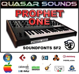 prophet one  - soundfonts sf2