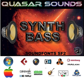 synth bass patches  - soundfonts sf2