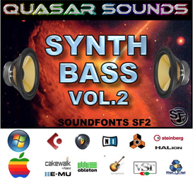 synth bass patches vol.2  - soundfonts sf2