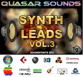 Synth Leads Patches Vol.3   -  Soundfonts Sf2 | Music | Soundbanks