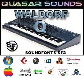 Waldorf Q  Soundfonts Sf2 | Music | Soundbanks