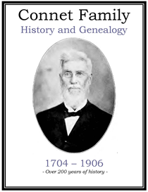 Connet Family History and Genealogy | eBooks | History