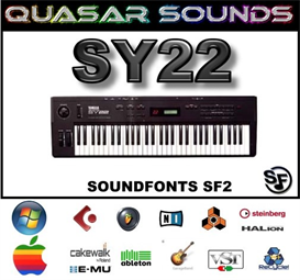 yamaha sy22  -  soundfonts sf2