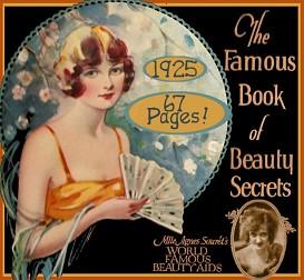 1920's famous book of beauty secrets