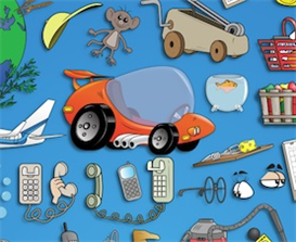 vector art collection - props, parts and gadgets