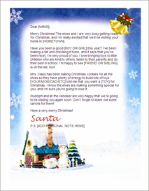 Santa Letter Stationary - Santa Village | Other Files | Patterns and Templates