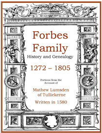 forbes family history and genealogy
