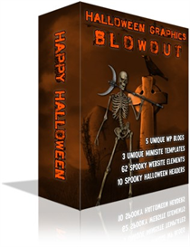 halloween graphics blowout minisites headers wordpress themes resell