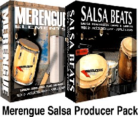 merengue salsa producer pack