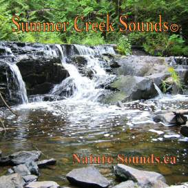 summer creek sounds 2 hr