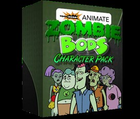 Zombie Bods: Complete Collection | Software | Design Templates