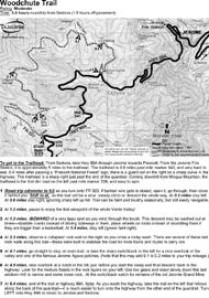 woodchute trail jerome arizona 4x4 jeep bw printable pdf map
