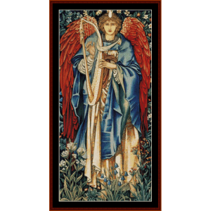 alleluia - burne-jones cross stitch pattern by cross stitch collectibles