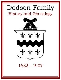 Dodson Family History and Genealogy | eBooks | History