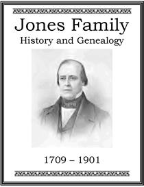 Jones Family History and Genealogy   eBooks   History