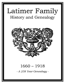 latimer family history and genealogy