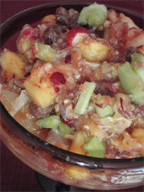 High-Energy Stuffing and Cranberry Relish | eBooks | Food and Cooking