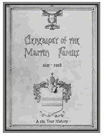 Martin Family History and Genealogy | eBooks | History