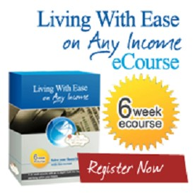 supplemental ebook:  living with ease on any income