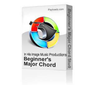 beginner's major chord study
