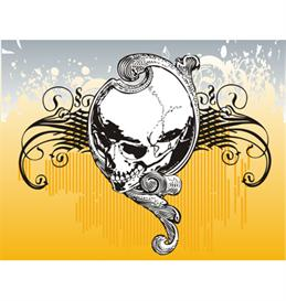 Oracle skull vector illustration | Photos and Images | Digital Art