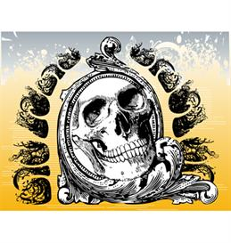 Mystic skull vector illustration | Photos and Images | Digital Art