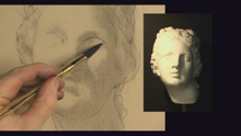 cast drawing - intro to portrait dwg preview