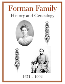 Forman Family History and Genealogy | eBooks | History