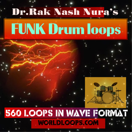 music loops - funk drum loops