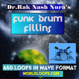 music loops - funk drum  fill ins